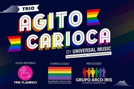 UNIVERSAL MUSIC BRASIL E PINK FLAMINGO FIRMAM A SUA PRIMEIRA PARCERIA E APRESENTAM O TRIO AGITO CARIOCA BY UNIVERSAL MUSIC NA 24ª PARADA DO ORGULHO LGBTI+ RIO