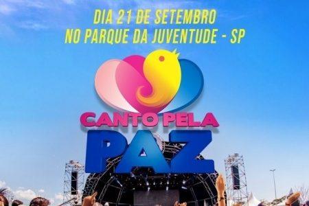 ELI SOARES E JONAS VILAR SÃO SUAS DAS GRANDES ATRAÇÕES DA EDIÇÃO 2019 DO EVENTO CANTO PELA PAZ