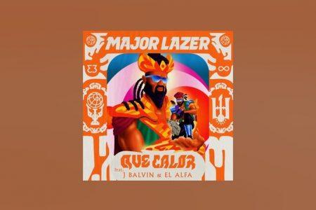 """MAJOR LAZER LANÇA NOVO SINGLE E VIDEOCLIPE, """"QUE CALOR"""", COM J BALVIN E EL ALFA"""