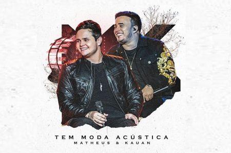 """CHEGA A TODOS OS APLICATIVOS DE MÚSICA O EP """"TEM MODA ACÚSTICA"""", DA DUPLA MATHEUS & KAUAN"""