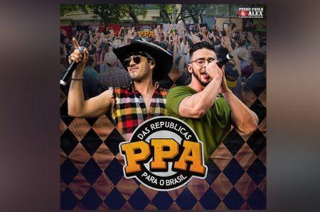 """OS SERTANEJOS PEDRO PAULO & ALEX LANÇAM O EP """"DAS REPÚBLICAS PARA O BRASIL 2 (AO VIVO EM MARINGÁ)"""""""