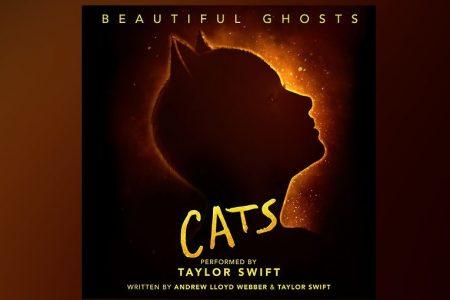 """OUÇA """"BEAUTIFUL GHOSTS"""", PARCERIA ENTRE TAYLOR SWIFT E O ÍCONE DO TEATRO ANDREW LLOYD WEBBER, PARA A TRILHA SONORA OFICIAL DE """"CATS"""""""
