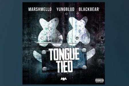 "MARSHMELLO, YUNGBLUD E BLACKBEAR SE JUNTAM PARA O LANÇAMENTO DO SINGLE E CLIPE ""TONGUE TIED"""