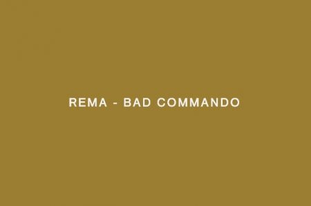 """ASSISTA A PERFORMANCE DE """"BAD COMMANDO"""", SINGLE DE REMA, NO """"A COLORS SHOW"""""""