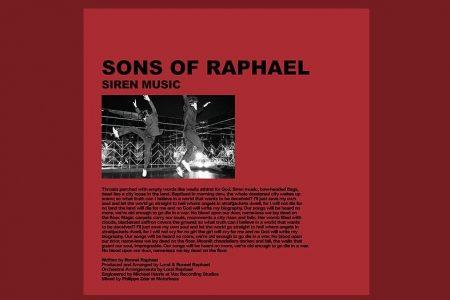 """O DUO SONS OF RAPHAEL SEGUE APRESENTANDO SEU ÁLBUM DE ESTREIA. CONHEÇA A MÚSICA E O VIDEOCLIPE DE """"SIREN MUSIC"""""""