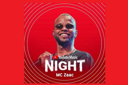 """MC ZAAC LANÇA DOIS VÍDEOS DO PROJETO """"YOUTUBE MUSIC NIGHT"""""""