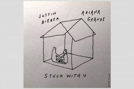 """COM """"STUCK WITH U"""", SINGLE COLABORATIVO DE ARIANA GRANDE E JUSTIN BIEBER, A CANTORA QUEBRA NOVOS RECORDES"""