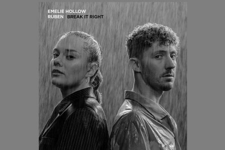 "EMELIE HOLLOW CONVIDA RUBEN PARA O LANÇAMENTO DA CANÇÃO ""BREAK IT RIGHT"""