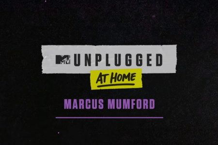 "MARCUS MUMFORD DISPONIBILIZA O PROJETO ""MTV UNPLUGGED AT HOME"""