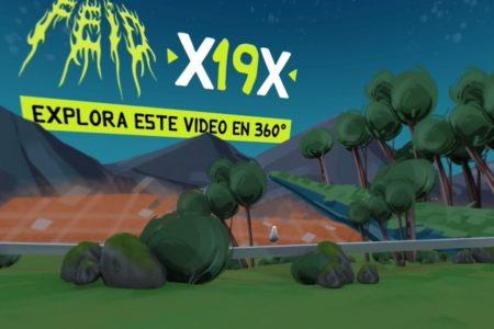 """O CANTOR COLOMBIANO FEID DIVULGA SEU PRIMEIRO VIDEOCLIPE DE ANIMAÇÃO EM 360°. ASSISTA AO CLIPE DE """"X19X"""""""