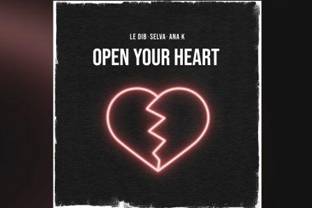 """O DUO DE PRODUTORES SELVA CONTA COM A COLABORAÇÃO DE ANA K NO LANÇAMENTO DO EP """"OPEN YOUR HEART"""""""
