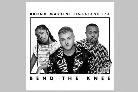 "BRUNO MARTINI CONVIDA IZA E TIMBALAND PARA ""BEND THE KNEE"", PRIMEIRO SINGLE DE ""ORIGINAL"", SEU ÁLBUM DE ESTREIA"