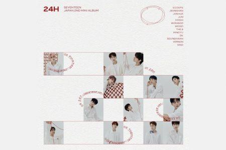 """O GRUPO DE K-POP SEVENTEEN LANÇA O EP """"24H"""", EM TODOS OS APLICATIVOS DE MÚSICA"""