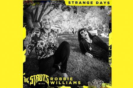 """OUÇA """"STRANGE DAYS"""", NOVA FAIXA DO THE STRUTS, QUE TRAZ A PARTICIPAÇÃO DE ROBBIE WILLIAMS"""