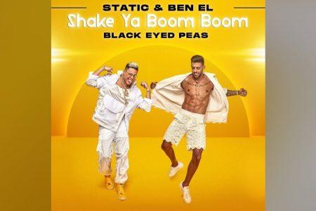 """CONTANDO COM A PARTICIPAÇÃO DO BLACK EYES PEAS, STATIC & BEN EL APRESENTAM A INÉDITA """"SHAKE YOUR BOOM BOOM"""""""