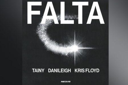 """OUÇA """"FALTA"""", FAIXA COLABORATIVA DE TAINY, DANILEIGH E KRIS FLOYD"""