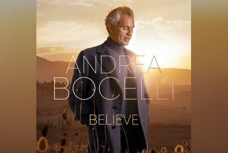 """BELIEVE"", ÁLBUM DE ANDREA BOCELLI, JÁ ESTÁ DISPONÍVEL PARA PRÉ-VENDA"