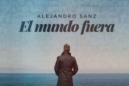 """O ASTRO ESPANHOL ALEJANDRO SANZ LANÇA """"EL MUNDO FUERA"""", UM RELATO SENSÍVEL E COLABORATIVO DA QUARENTENA"""
