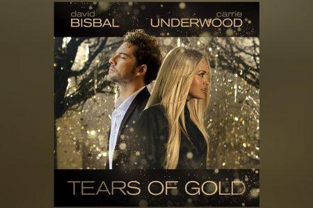 """DAVID BISBAL E CARRIE UNDERWOOD SE UNEM PARA O LANÇAMENTO DA FAIXA E VIDEOCLIPE DE """"TEARS OF GOLD"""""""