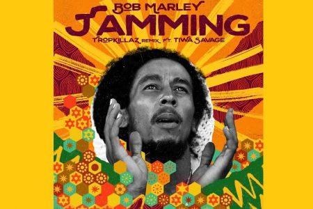 """""""JAMMING"""", SUCESSO DE BOB MARLEY, GANHA UMA VERSÃO REMIX ASSINADA PELO TROPKILLAZ"""