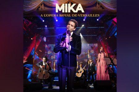 """""""A L'OPERA ROYAL DE VERSAILLES (LIVE)"""", NOVO ÁLBUM DE MIKA, JÁ PODE SER CONFERIDO"""