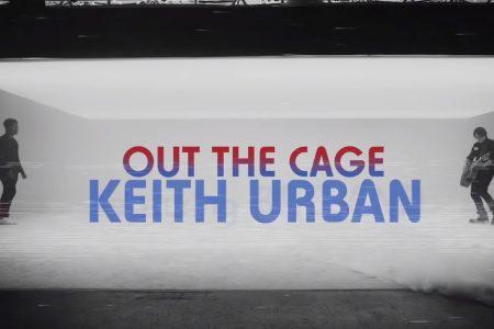 """KEITH URBAN DISPONIBILIZA O VÍDEO DE """"OUT THE CAGE"""", SUA PARCERIA COM BRELAND E NILE RODGERS"""