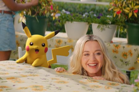 "KATY PERRY APRESENTA SEU NOVO SINGLE E VÍDEO, ""ELECTRIC"",  COM A COLABORAÇÃO DO POKÉMON"