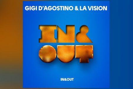 """GIGI D'AGOSTINO E LA VISION SE UNEM NOVAMENTE EM """"IN & OUT"""""""