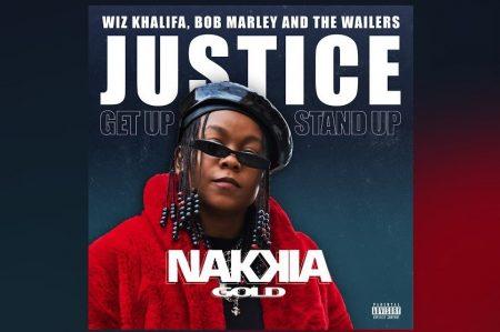 """CONFIRA A FAIXA """"JUSTICE (GET UP STAND UP)"""", DE NAKKIA GOLD E WIZ KHALIFA, QUE CONTA COM TRECHOS ORIGINAIS DO CLÁSSICO DE BOB MARLEY"""