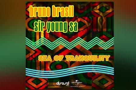 """BRUNO BRASIL E SIR YOUNG SA LANÇAM A FAIXA """"SEA OF TRANQUILITY"""" EM TODOS OS APLICATIVOS DE MÚSICA"""