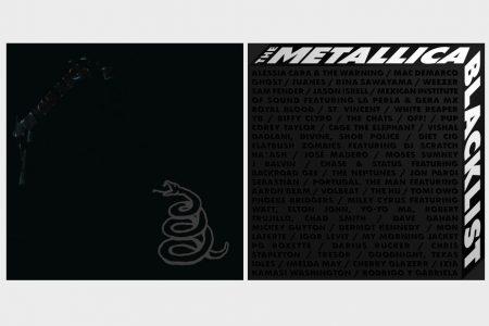 """METALLICA ANUNCIA O LANÇAMENTO DOS ÁLBUNS """"THE BLACK ALBUM (REMASTERIZADO)"""" E """"THE METALLICA BLACKLIST"""", APRESENTANDO 53 ARTISTAS"""