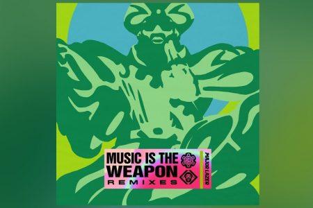 """O EP """"MUSIC IS THE WEAPON"""", DO MAJOR LAZER, GANHA UMA VERSÃO DE REMIXES"""
