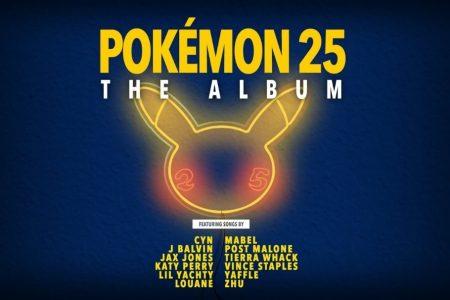 """JÁ ESTÁ DISPONÍVEL A PRÉ-VENDA DO DISCO """"POKÉMON 25: THE ALBUM"""""""