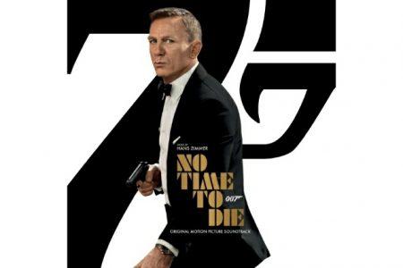 """A TRILHA SONORA DO MAIS NOVO FILME DE JAMES BOND, """"007 NO TIME TO DIE"""", CHEGA A TODOS OS APLICATIVOS DE MÚSICA"""