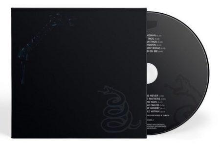 """A VERSÃO FÍSICA DO DISCO """"THE METALLICA BLACK ALBUM"""", DO METALLICA, CHEGA À UMUSIC STORE"""